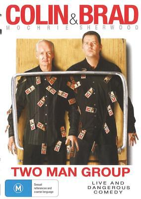 Colin And Brad - Two Man Group - New & Sealed Region 4 Dvd Free Local Post