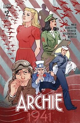 ARCHIE 1941 #2 Cover D Variant Marguerite Sauvage Cover – RIVERDALE COMICS 2018