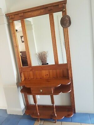 Hall Stand With Mirror