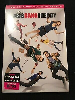 The Big Bang Theory Complete 11th Season DVD Region 1- Brand New Sealed
