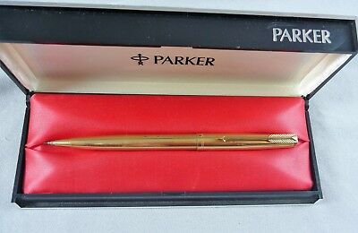 Vintage Estate Parker 61 Insignia 1/10Th 12K Gold Filled Pencil/ballpoint