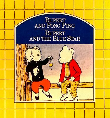 Rupert and Ping Pong - Rupert and the Blue Star illust Alfred Bestall used PB