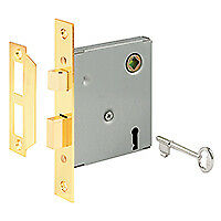 Prime-Line Products E 2294 Keyed Mortise Replacement Lock Assembly With 5-1/2