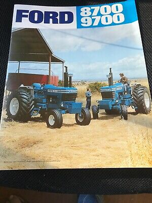 Ford  Tractor 8700/9700 Brochure