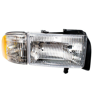 Headlight Embly For 1994 2002 Dodge Ram Truck Pengers Headlamp Corner Lamp