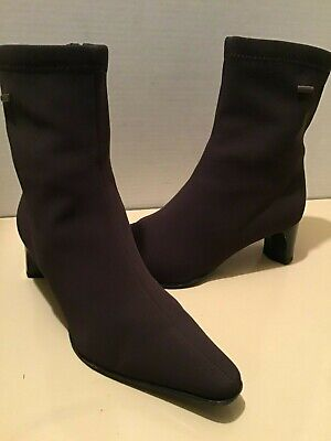 a89a0e0be Ara Gore Tex Women s Brown Microfiber Waterproop Ankle Boots Size Uk 5.5 Us  Size