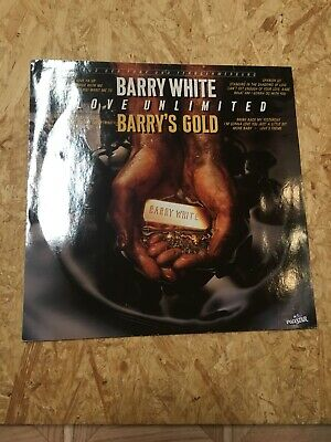 Barry White & Love Unlimited - Barry's Gold -- LP / Soul