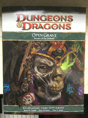 Open Grave: Secrets of the Undead [Softcover] - Dungeons & Dragons D&D 4E