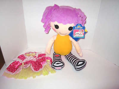 a4a686fb530 Build a bear Lalaloopsy peanut big top Circus doll   Extra outfit Large ...