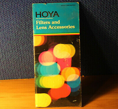 Hoya Filters and Lens Accessories.