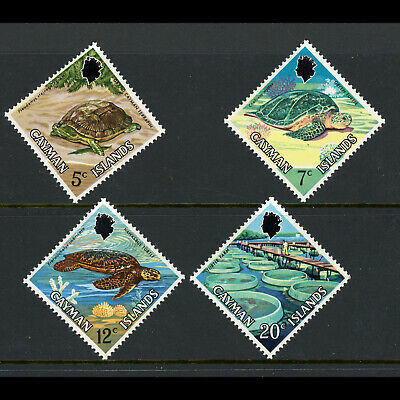 CAYMAN ISLANDS 1971 Turtles. SG 294-297. Mint Never Hinged. (W0788)