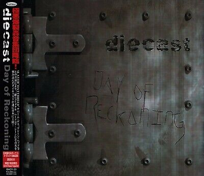 DIECAST Day Of Reckoning +1 JAPAN CD OBI BACY-23 Slayer Napalm Death