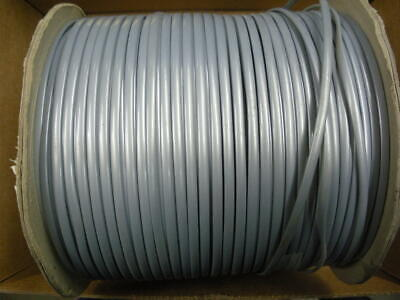 telephone line cord flat 4 conductor gray approx 900ft RJ11