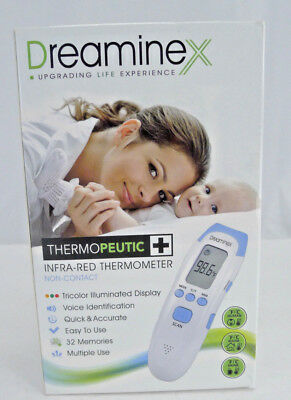 Dreaminex Thermopeutic Infra-Red Forehead Thermometer Non-Contact Baby Adult