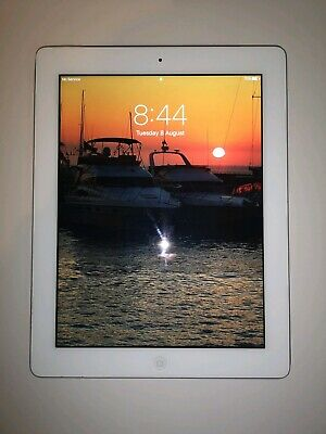 Apple iPad 4th Generation - 16GB, Wi-Fi, White - Excellent Condition