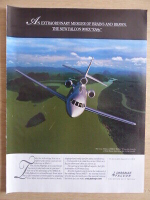 5/2004 PUB DASSAULT AVIATION FALCON 900EX EAsy BUSINESS JET AIRCRAFT ORIGINAL AD