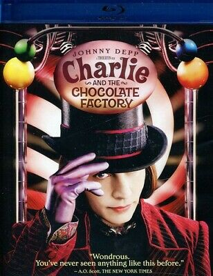 Charlie and the Chocolate Factory (REGION A Blu-ray New) BLU-RAY/WS