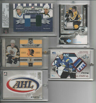 Yan Stastny Collection 133 different Trading Card Lot 31* 1/1 One of One The Cup