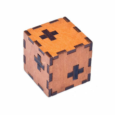 Wooden Box Kongming Lock Brain Teaser Cube Toys Puzzle Intelligence Toys Funny