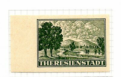 Bohemia & Moravia  UMM Theresienstadt concentration camp  high cv; SOLD 'AS IS'