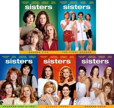 SISTERS COMPLETE SERIES New DVD Seasons 1-6 Season 1 2 3 4 5 6