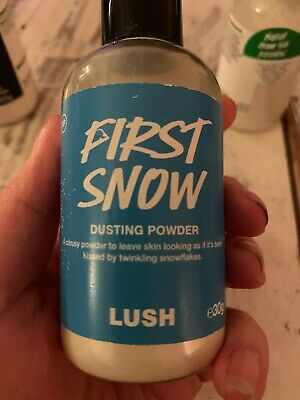 Lush- Dusting Powder Duo- First Snow, Powder Puff- Rare, OOD, Used, Exclusive