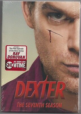 Dexter: The Seventh Season (DVD, 2013, 4-Disc Set)  BRAND NEW SEALED