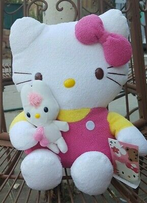 Hello Kitty With Baby Softie New With Tags Soft Toy Plush Huggable