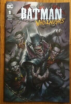 Batman Who Laughs #1. Parillo Variant First App Of The Grim Knight