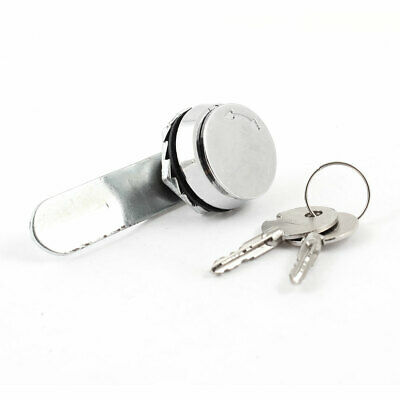 19.3mmx 9mm Thread Cabinet Mailbox Drawer Quarter Turn Cam Lock