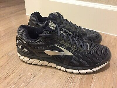 7b9b2150df5 Brooks Beast 16 Mens Shoe Anthracite Black Silver multiple wide sizes 12