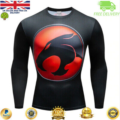Compression top MMA BJJ gym superhero avengers marvel muscle Black Panther
