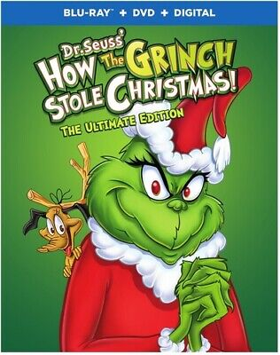 Dr Seuss: How The Grinch Stole Christmas - 2 DISC SET (Blu-ray New)