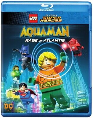 Lego Dc Super Heroes: Aquaman - Rage Of Atlantis - 2 DISC SET (Blu-ray New)