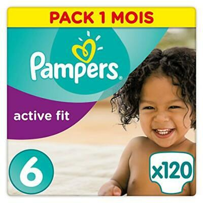 (TG. Taglia 6 (15+ kg)) Pampers Active Fit Premium Protection, 120 Pannolini, Ta