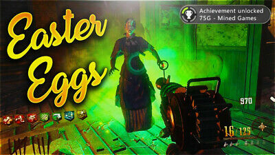 CALL OF DUTY Black Ops 4 Zombies Easter Eggs (Xbox One