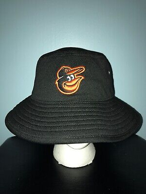 8049392d6fff4 BALTIMORE ORIOLES BUCKET Hat One Size Fits Most MLB Beach New Miller ...
