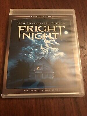 FRIGHT NIGHT Blu-ray 1985 Twilight Time Limited 30th Anniversary Edition OOP