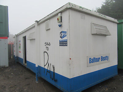 32ft x 10ft SITE CABIN SITE CHANGING ROOM PORTABLE BUILDING £3000 + VAT
