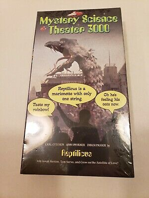REPTILICUS VHS NEW SEALED SiFi Monster Movies - $12 99