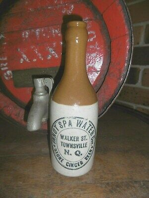VERY RARE / INNOT SPA WATER COY/ GINGER BEER FROM TOWNSVILLE N.Q. [free post]