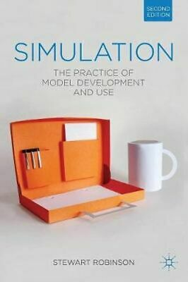 NEW Simulation By Stewart Robinson Paperback Free Shipping