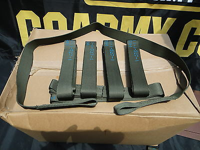 LOT OF NEW  Qty of 5  Heavy Duty  5' Tow Straps, EYE Loop Ends, 9000 lb Webbing