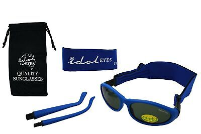 Baby Wrapz 2 Convertible Sunglasses 0-5 Years With 2 Headbands & Attachable A...