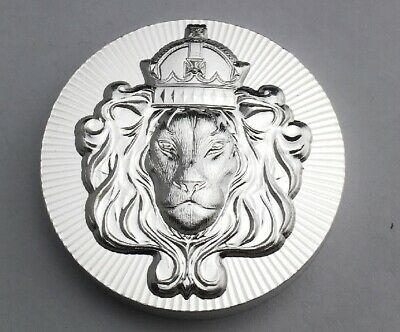 Scottsdale Stackers Stackable 2 Oz .999 Fine Silver Round Coin Raised Lion Head