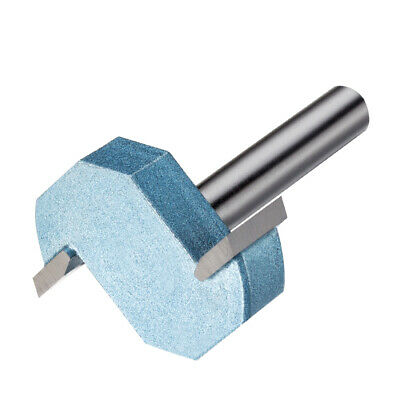 3/8-inch Cutting Depth T-Slot T-Track Slotting Router Bit Cutter 1/4-inch Shank