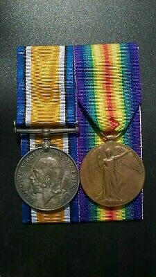 WW1 British War and Victory Medal 5809 Private Angus Semple 2nd Scottish Horse