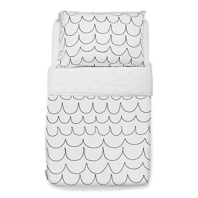 Snuz Designz Duvet & Pillow Case Set - Wave Mono