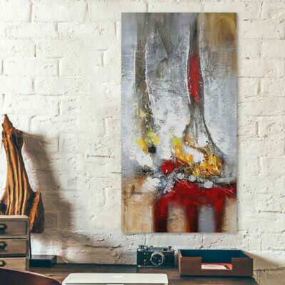 Hand Draw House Decor Oil Painting Stretched On Canvas Abstract Modern 80*150cm