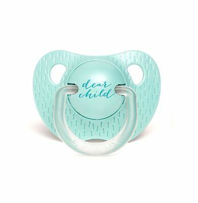 SUAVINEX 303315 – Pacifier Orthodontic Teat Silicone 0 – 6 Months, Light Green